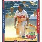 Andruw Jones 2005 Topps Opening Day #50 Atlanta Braves Baseball Card