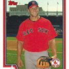 Gabe Kapler 2004 Topps #399 Boston Red Sox Baseball Card