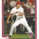 John Lackey 2004 Topps #191 Anaheim Angels Baseball Card
