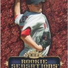 Jon Lester 2007 Fleer 'Rookie Sensation' #JL Boston Red Sox Baseball Card