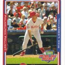 Mike Lieberthal 2005 Topps Opening Day #13 Philadelphia Phillies Baseball Card