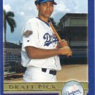 James Loney 2003 Topps Rookie #672 Los Angeles Dodgers Baseball Card