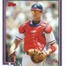 Javy Lopez 2004 Topps #78 Atlanta Braves Baseball Card