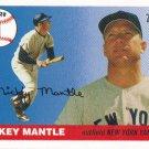 Mickey Mantle 2006 Topps 'Home Run History' #1 New York Yankees Baseball Card