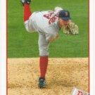 Justin Masterson 2009 Topps #349 Boston Red Sox Baseball Card