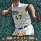 Ricky Nolasco 2007 Fleer 'Rookie Sensation' #RN Florida Marlins Baseball Card