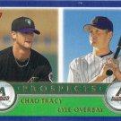 Lyle Overbay-Chad Tracy 2003 Topps Rookie #678 Arizona Diamondbacks Baseball Card