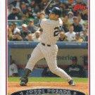Jorge Posada 2006 Topps #40 New York Yankees Baseball Card