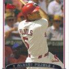Albert Pujols 2006 Topps #263 St. Louis Cardinals Baseball Card