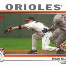 Brian Roberts 2004 Topps #432 Baltimore Orioles Baseball Card