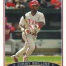 Jimmy Rollins 2006 Topps #205 Philadelphia Phillies Baseball Card