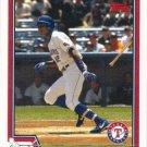 Alfonso Soriano 2004 Topps #600 Texas Rangers Baseball Card