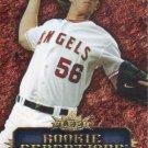 Jered Weaver 2007 Fleer 'Rookie Sensations' #JW Los Angeles Angels Baseball Card