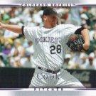 Aaron Cook 2007 Upper Deck #314 Colorado Rockies Baseball Card