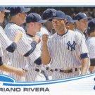 Mariano Rivera 2013 Topps #600 New York Yankees Baseball Card