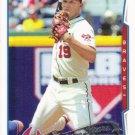 Andrelton Simmons 2014 Topps #283 Atlanta Braves Baseball Card
