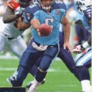 Kerry Collins 2009 Upper Deck #191 Tennessee Titans Football Card