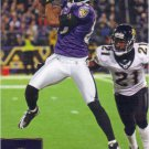 Derrick Mason 2009 Upper Deck #18 Baltimore Ravens Football Card