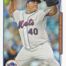 Bartolo Colon 2014 Topps #631 New York Mets Baseball Card