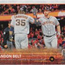 Brandon Belt 2015 Topps #29 San Francisco Giants Baseball Card
