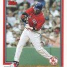 David Ortiz 2004 Topps #623 Boston Red Sox Baseball Card