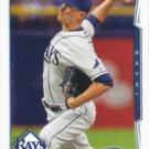 Jake Odorizzi 2014 Topps Update #US-135 Tampa Bay Rays Baseball Card