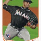 A.J. Ramos 2013 Topps Rookie #175 Miami Marlins Baseball Card