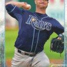 Alex Cobb 2015 Topps #28 Tampa Bay Rays Baseball Card