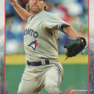 R.A. Dickey 2015 Topps #316 Toronto Blue Jays Baseball Card