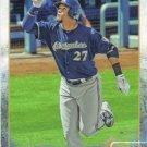 Carlos Gomez 2015 Topps #340 Milwaukee Brewers Baseball Card