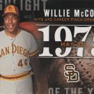 Willie McCovey 2015 Topps 'Highlights of the Year' #H-18 San Diego Padres Baseball Card