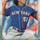 Jenrry Mejia 2015 Topps #166 New York Mets Baseball Card