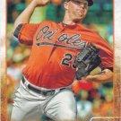 Bud Norris 2015 Topps #104 Baltimore Orioles Baseball Card