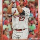 Jhonny Peralta 2015 Topps #311 St. Louis Cardinals Baseball Card