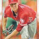 Tyler Skaggs 2015 Topps #74 Los Angeles Angels Baseball Card
