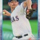Nick Tepesch 2015 Topps #82 Texas Rangers Baseball Card