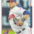 Mike Aviles 2014 Topps #76 Cleveland Indians Baseball Card