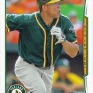 Kyle Blanks 2014 Topps Update #US-101 Oakland Athletics Baseball Card