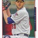 Jared Burton 2014 Topps Update #US-224 Minnesota Twins Baseball Card