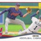 Asdrubal Cabrera 2014 Topps #559 Cleveland Indians Baseball Card