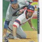 Jordan Danks 2014 Topps #649 Chicago White Sox Baseball Card