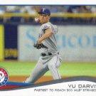 Yu Darvish 2014 Topps Update #US-250 Texas Rangers Baseball Card