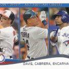 Chris Davis-Miguel Cabrera-Edwin Encarnacion 2014 Topps #29 Baseball Card