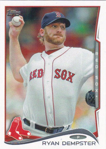 Ryan Dempster 2014 Topps #466 Boston Red Sox Baseball Card