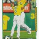 Nate Freiman 2014 Topps #343 Oakland Athletics Baseball Card