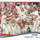 Freddy Galvis 2014 Topps #637 Philadelphia Phillies Baseball Card