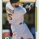 Jonny Gomes 2014 Topps Update #US-327 Oakland Athletics Baseball Card