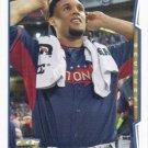 Carlos Gomez 2014 Topps Update #US-315 Milwaukee Brewers Baseball Card