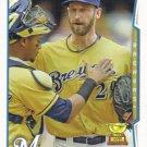 Jim Henderson 2014 Topps #181 Milwaukee Brewers Baseball Card