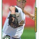 Jon Lester 2014 Topps Update #US-142 Oakland Athletics Baseball Card